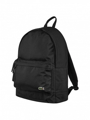 Lacoste Pro Tour Player Backpack Bag, Black