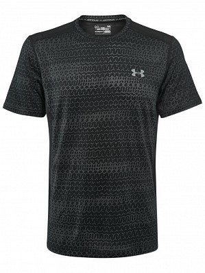 Under Armour Andy Murray 2017 Australian Open Raid Graphic Men's Tennis Crew Shirt, Black