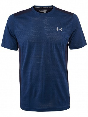 Under Armour Andy Murray 2017 Australian Open Raid Graphic Men's Tennis Crew Shirt, Navy