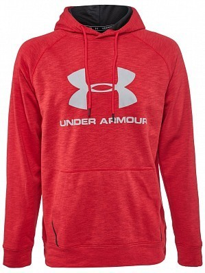Under Armour Andy Murray ATP Tour Tech Sportstyle Men's Tennis Hoodie Sweater, Red