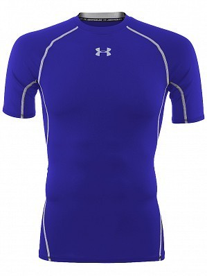 Under Armour Andy Murray ATP Tour Pro Heatgear Men's Short Sleeve Compression Shirt, Blue