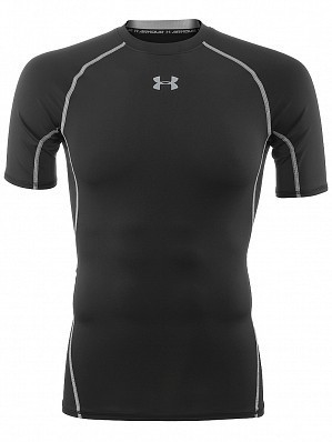 Under Armour Andy Murray ATP Tour Pro Heatgear Men's Short Sleeve Compression Shirt, Black