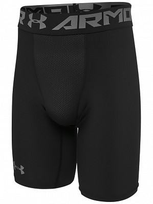 Under Armour Andy Murray ATP Tour Pro Heatgear Men's Compression Shorts 23cm, Black