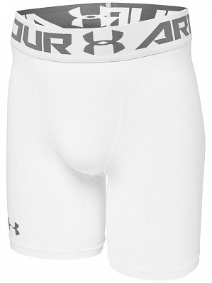 Under Armour Andy Murray ATP Tour Pro Heatgear Men's Compression Shorts 15cm, White