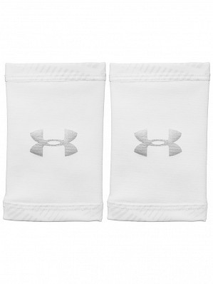 Under Armour Andy Murray ATP Tour Pro CoolSwitch Double-Wide Tennis Wristbands, White