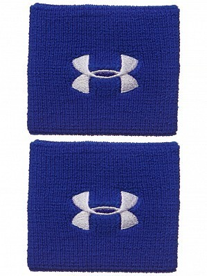 Under Armour Andy Murray ATP Tour Pro Performance Tennis Wristbands, Blue