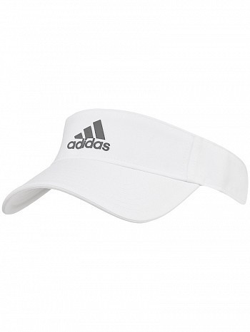 Adidas WTA Pro Tour Player Basic Climalite Tennis Visor White
