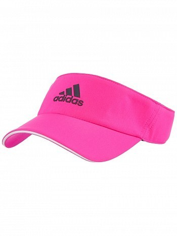 Adidas WTA Pro Tour Player Basic Climalite Tennis Visor Red