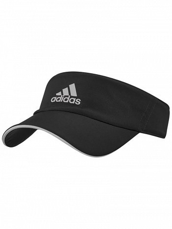 Adidas WTA Pro Tour Player Basic Climalite Tennis Visor Black