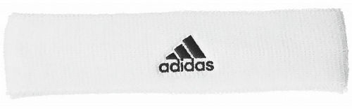 Adidas Pro Player Logo Tennis Headband White / Black