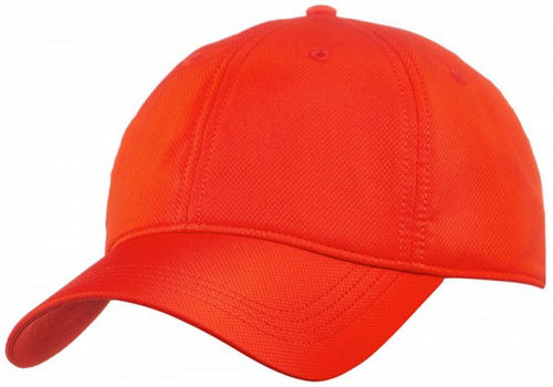 Lacoste Pro Player Basic Essentials Logo Tennis Cap Hat Red