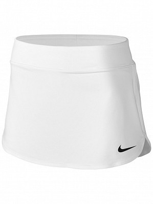 Nike Pro Player WTA Tour Women's Court Pure Tennis Skirt 30cm, White