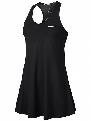 Nike Pro Player WTA Tour Women's Court Pure Tennis Dress Black