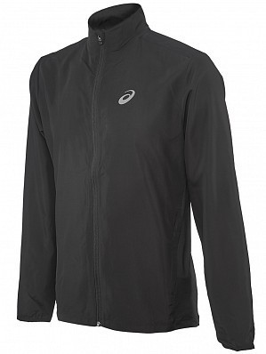 Asics ATP Master Tour Pro Player Men's Warm Up Training Tennis Jacket, Black