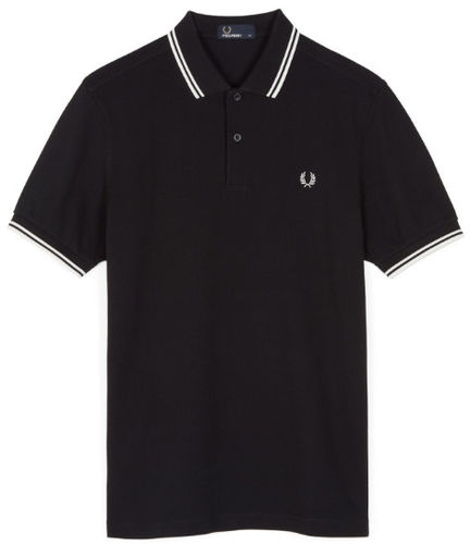 Fred Perry Pro Men's Authentic Tennis Polo Shirt, Black