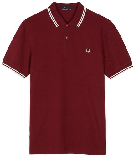 Fred Perry Pro Men's Authentic Tennis Polo Shirt, Red