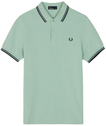 Fred Perry Pro Men's Authentic Tennis Polo Shirt, Green