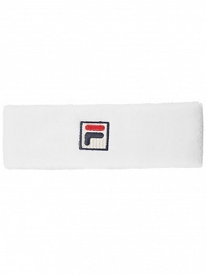 Fila ATP & WTA Master Tour Pro Player Flexby Tennis Headband White