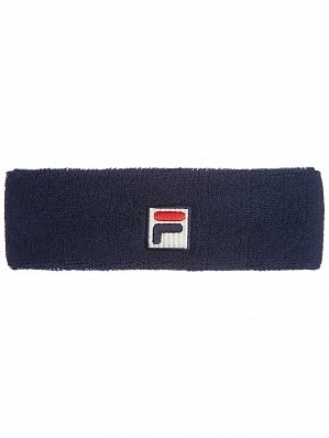 Fila ATP & WTA Master Tour Pro Player Flexby Tennis Headband Navy
