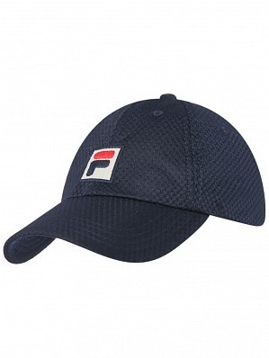 Fila ATP & WTA Master Tour Pro Player Sampau Logo Tennis Cap Hat Navy