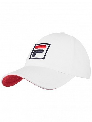 Fila ATP & WTA Master Tour Pro Player Forze Logo Tennis Cap Hat White