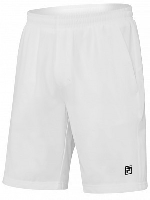 Fila ATP Master Tour Pro Player Men's Core Santana Tennis Shorts, White