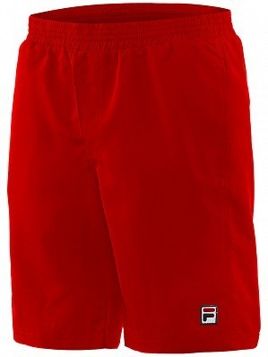 Fila ATP Master Tour Pro Player Men's Core Santana Tennis Shorts, Red