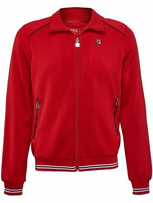 Fila ATP Master Tour Pro Player Men's Core Joe Tennis Jacket, Red