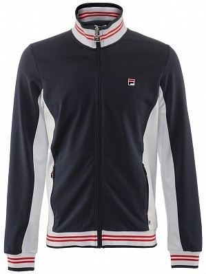 Fila ATP Master Tour Pro Player Men's Core Ole Functional Tennis Jacket, Navy