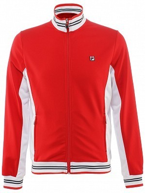 Fila ATP Master Tour Pro Player Men's Core Ole Functional Tennis Jacket, Red