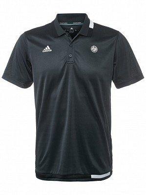Adidas ATP Pro Player 2017 French Open Roland Garros Men's Tennis Polo Shirt, Anthracite Grey