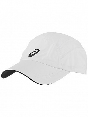 Asics ATP & WTA Master Tour Pro Player Essential Logo Tennis Cap Hat White