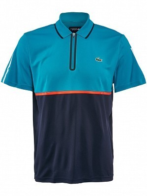Lacoste ATP Pro Player Men's Tennis Polo Shirt, Blue / Navy