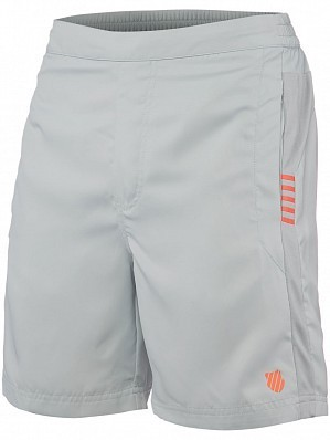 K-Swiss ATP Pro Player Men's Tour Game Tennis Shorts, Grey
