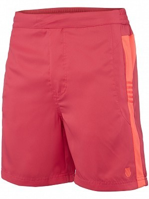 K-Swiss ATP Pro Player Men's Tour Game Tennis Shorts, Red