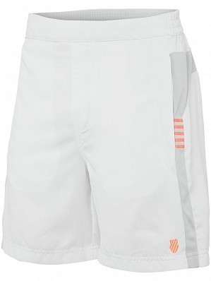 K-Swiss ATP Pro Player Men's Tour Game Tennis Shorts, White