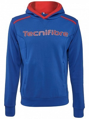 Tecnifibre ATP Pro Player Logo Men's Fleece TennisHoodie Sweater, Blue