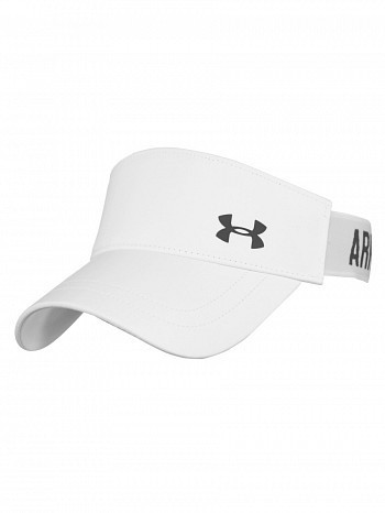 Under Armour WTA Tour Pro Player Shadow Armour Vent Tennis  Visor, White