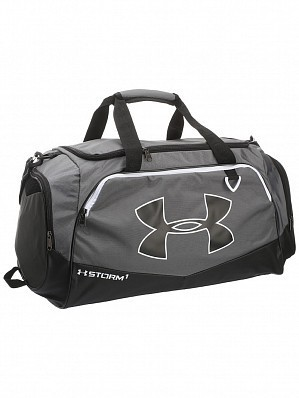 Under Armour Andy Murray ATP Tour Undeniable Large Duffle Tennis Bag, Grey