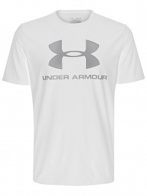 Under Armour Andy Murray ATP Tour Pro Logo Men's Tennis Training Tee Shirt, White