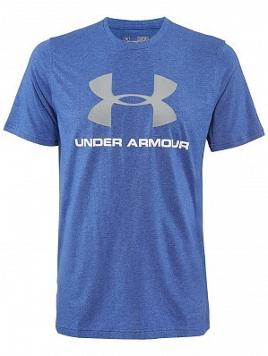 Under Armour Andy Murray ATP Tour Pro Logo Men's Tennis Training Tee Shirt, Blue