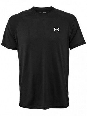 Under Armour Andy Murray ATP Tour Pro Logo Men's Basic Tech Tennis Crew Shirt, Black