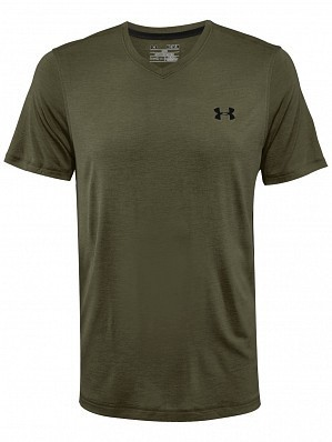 Under Armour Andy Murray ATP Tour Pro Logo Men's Basic Tech Tennis Crew Shirt, Green