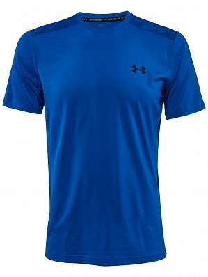 Under Armour Andy Murray ATP Tour Pro Logo Men's Raid Tennis Crew Shirt, Blue