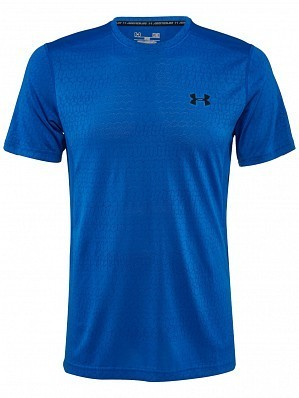 Under Armour Andy Murray ATP Tour Pro Logo Men's Raid Graphic Tennis Crew Shirt, Blue