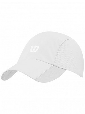 9eac6fdc9a1 Wilson ATP Master Tour Pro Player Rush Stretch Woven Tennis Cap Hat White