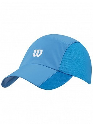 Wilson ATP Master Tour Pro Player Rush Stretch Woven Tennis Cap Hat Blue