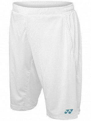 Yonex Stanislas Wawrinka Men's Grand Slam Tennis Shorts, White
