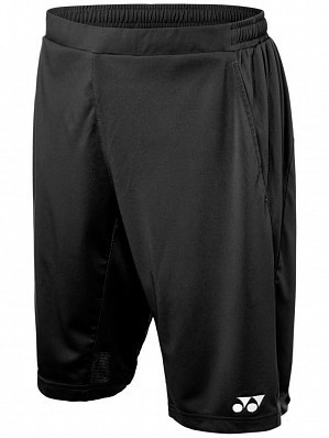 Yonex Stanislas Wawrinka Men's Grand Slam Tennis Shorts, Black
