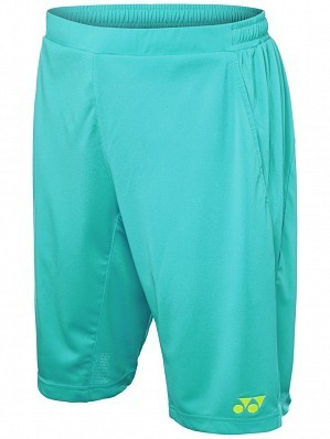 Yonex Stanislas Wawrinka Men's Grand Slam Tennis Shorts, Teal Green